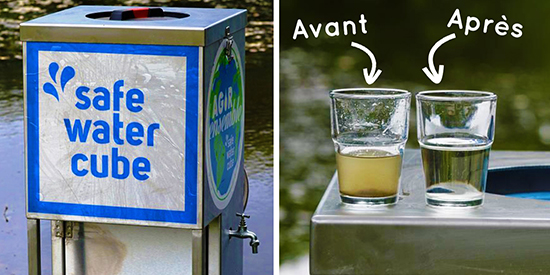 Safe Water cube, la solution pour obtenir de l'eau potable