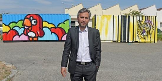 Cédric Denoyel, fondateur de Capsa Container