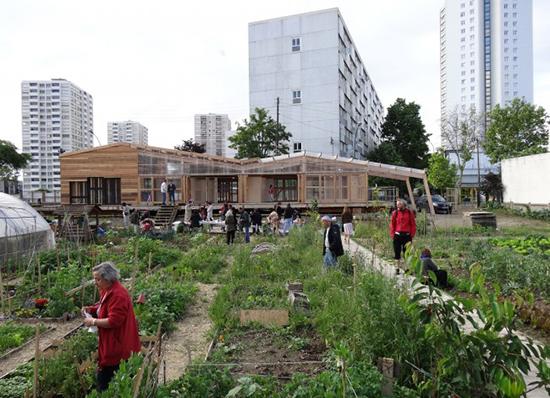 Circuit court et agriculture urbaine à Colombes