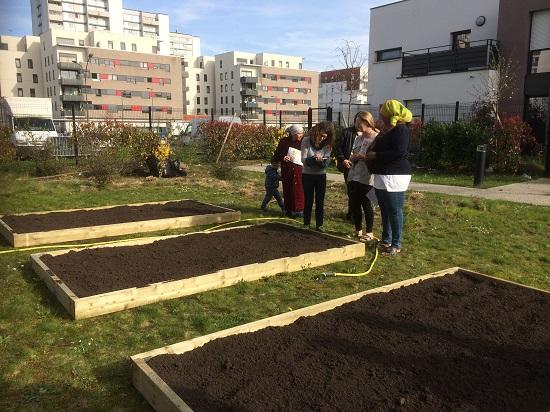 exemple jardin partagé