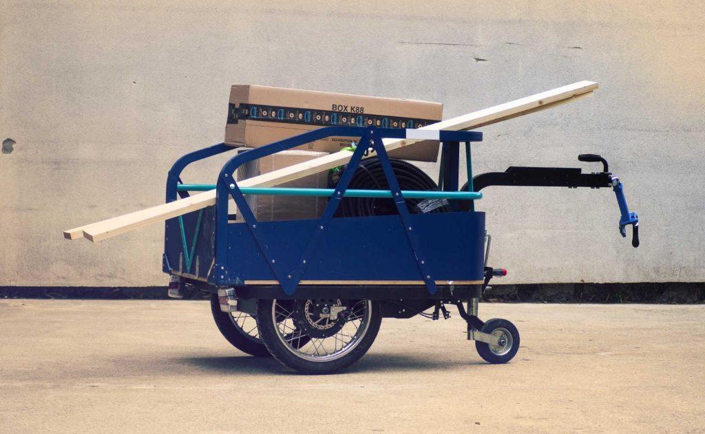 K-Ryole vélo cargo en ville