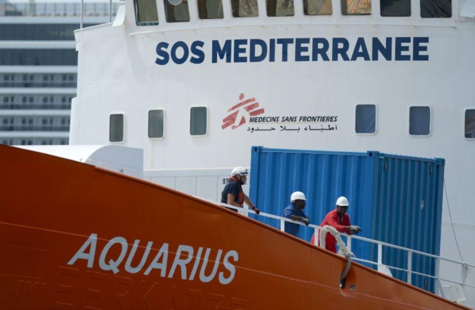 L»Aquarius» ne portera plus secours aux migrants en mer