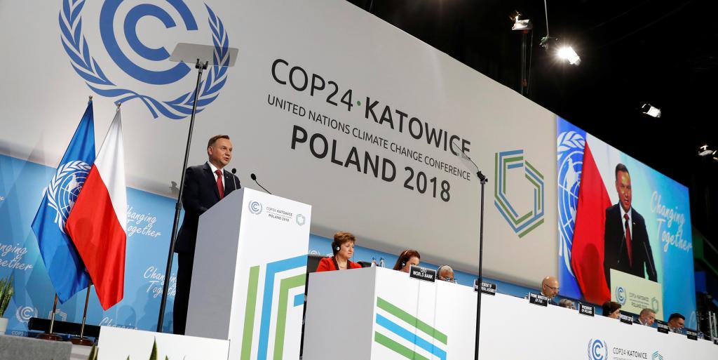 Lancement de la COP 23 à Katowice, Pologne