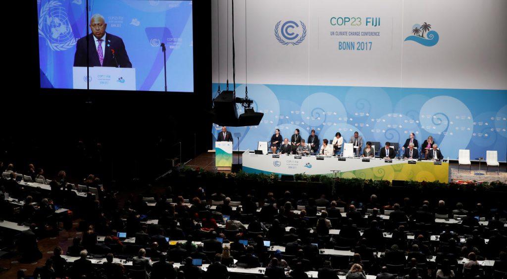 Lancement de la COP 23 à Bonn, Allemagne